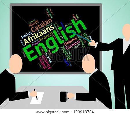 English Language Represents Learn Catalan And Dialect