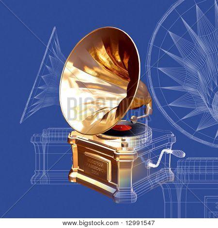 gramophone wire