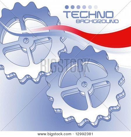 Techno-Hintergrund