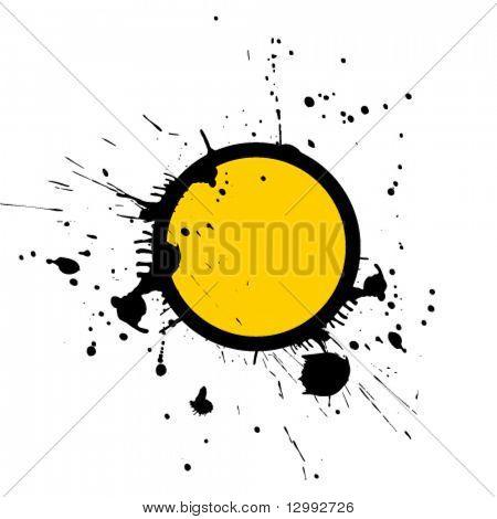 Stamp. Vector grunge background.