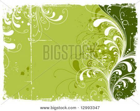 Vegetative backdrop