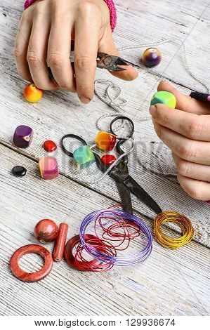 Bead Decoration Handmade