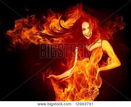 Chica caliente