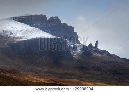 Old Man of Storr Isle of Skye Scotland UK