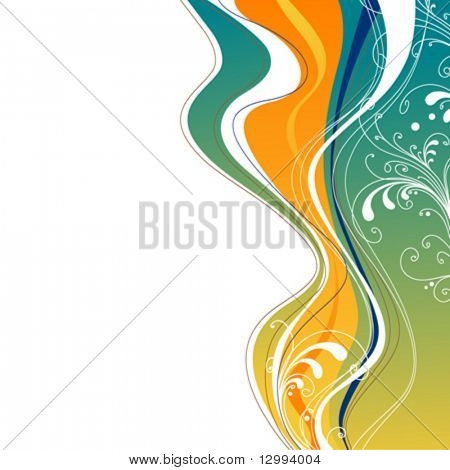 Decorative colorful background