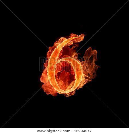 Fuente de fuego. 6
