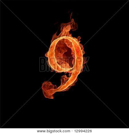 Fuente de fuego. 9