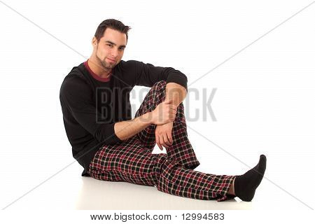 Man In Pajamas