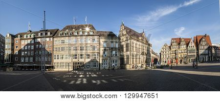Town Hall On The Market Square In Bremen