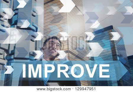 Improve Improvement Development Better Change Concept