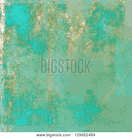 Retro vintage colored background with noise effect; grunge texture with different color patterns: yellow (beige); brown; green; gray; blue; cyan