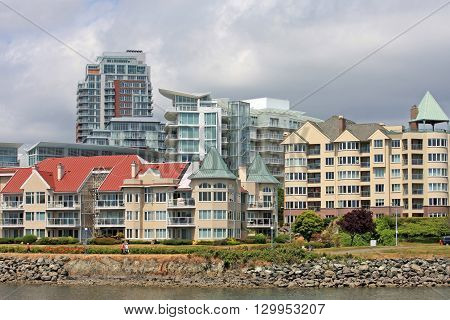 City of Victoria in Vancouver Island, Canada