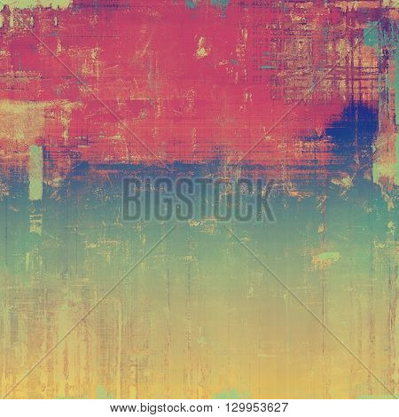 Abstract grunge background or damaged vintage texture. With different color patterns: yellow (beige); brown; red (orange); purple (violet); blue; pink
