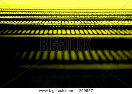 Abstract Yellow Texture