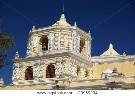 Catholic Church in Antigua in Guatemala, Central America