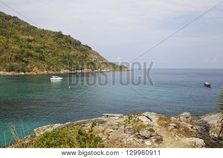 landscapes in Koh Racha Thailand Southeast Asia