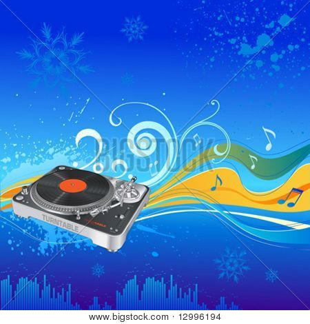 Christmas party - Musical background