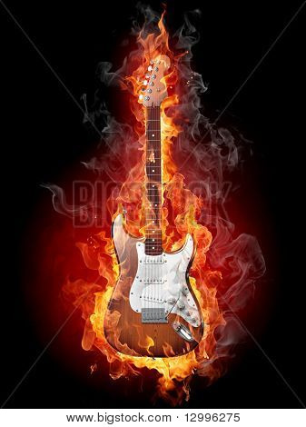 Quema de Guitarra