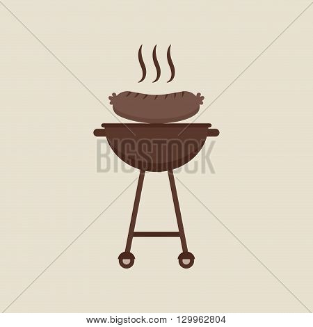 grill food design, vector illustration eps10 graphic