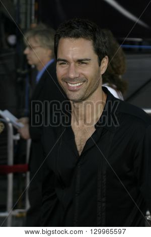Eric McCormack at the Los Angeles premiere of 'Collateral' held at the Orpheum Theatre in Los Angeles, USA on August 2, 2004.