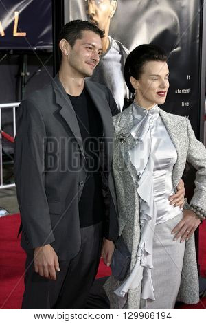 Debi Mazar at the Los Angeles premiere of 'Collateral' held at the Orpheum Theatre in Los Angeles, USA on August 2, 2004.