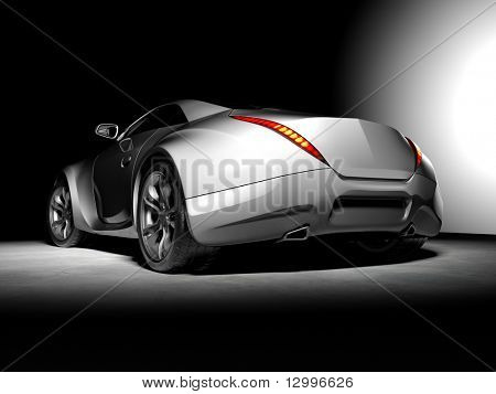 Concept car. My own car design. Not associated with any brand.