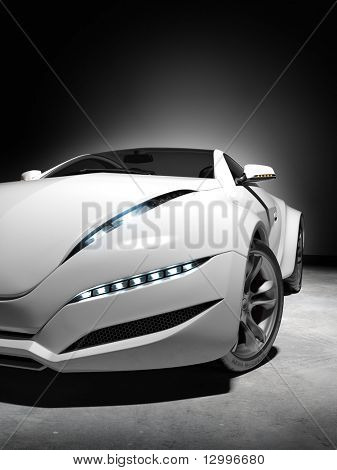 Concept car. My own car design, not associated with any brand.