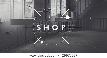 Shop Retail Commerce Business Buying Spending Concept