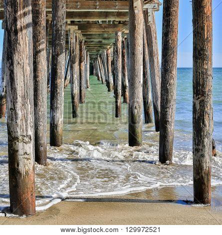 Under The Boardwalk Down by the Sea.