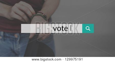 Vote Election Political Decision Democracy Voting Concept