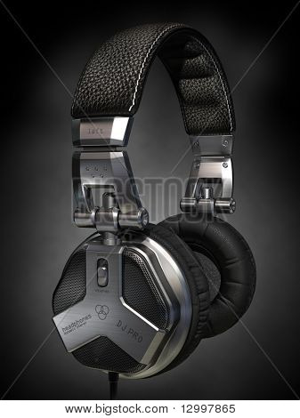 Headphones. My own design made for the image. Logo is a fake.