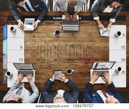 Calendar Agenda Day Deadline Event Meeting Concept