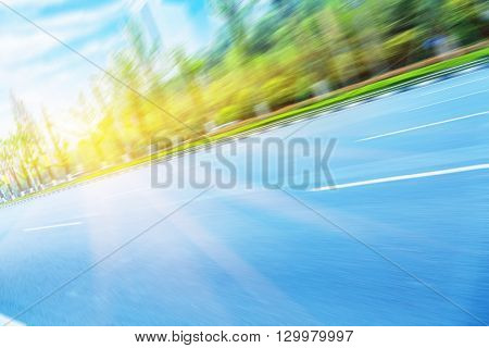 clean road,chongqing china