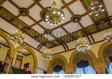 Roof Detail Of Toronto Legislative Building In Toronto, Ontario, Canada