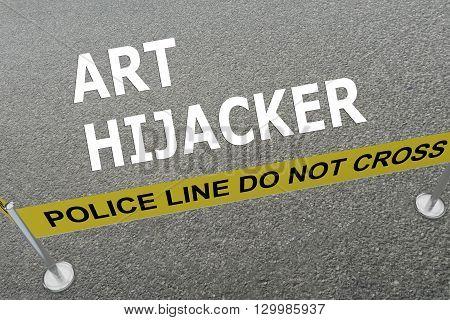 Art Hijacker Concept