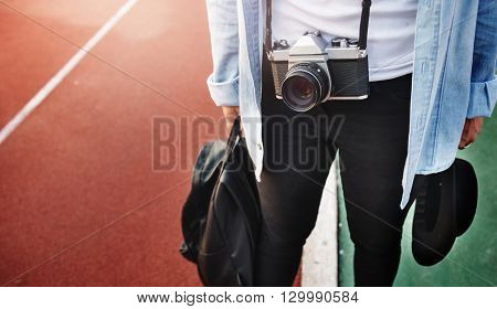 Photographer Hobby Recreation Style Leisure Concept