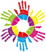 image of human-rights  - vector children - JPG