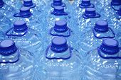 pic of plastic bottle  - plastic bottles of water - JPG