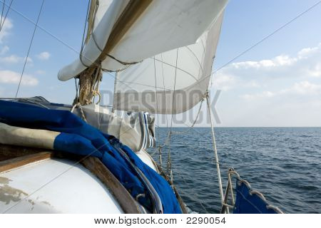 Sailing On The Ocean