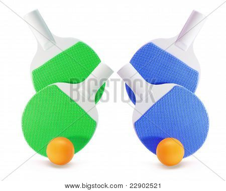 Table Tennis Bats And Balls