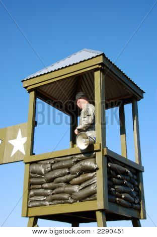 Military Observation Tower