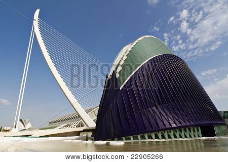 Agora In The City Of Arts And Sciences Valencia, Spain
