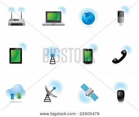 Web Icons - Wireless World