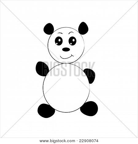 Cute Little Panda