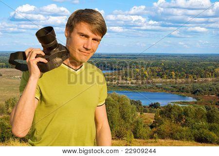 Photographer-landscape Painter.