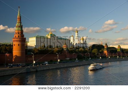 Kremlin In Russia, Moscow, Red Square