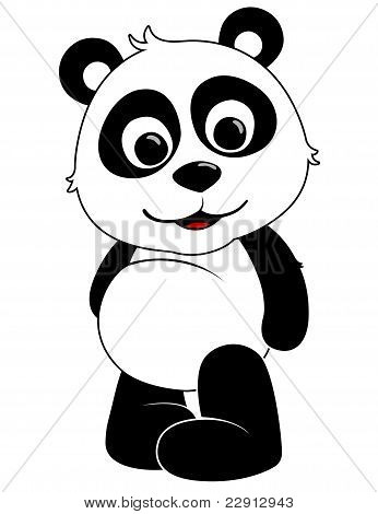 Baby Panda Illustration