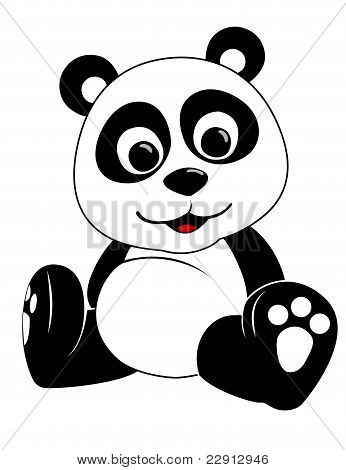 Baby Panda Illustration