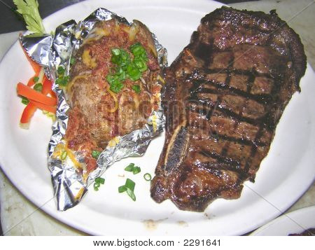 Mouth Watering Steak