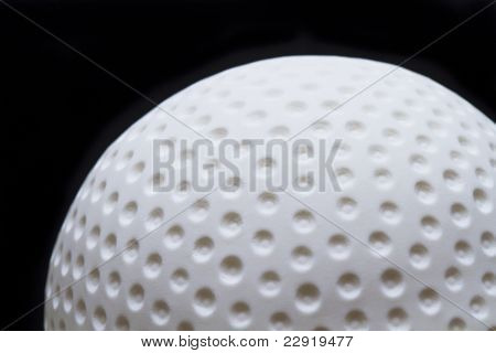 Golf ball fondant cake